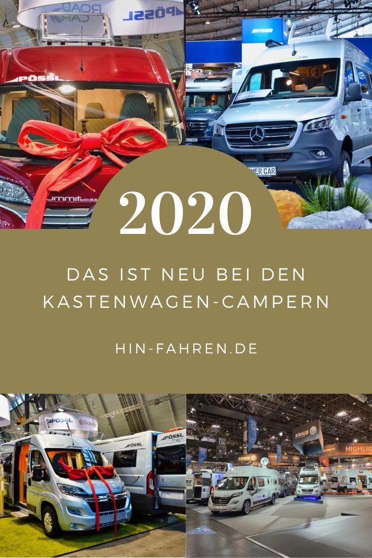 Kastenwagen Neuheiten 2020 Neue Hersteller Grundrisse Motoren
