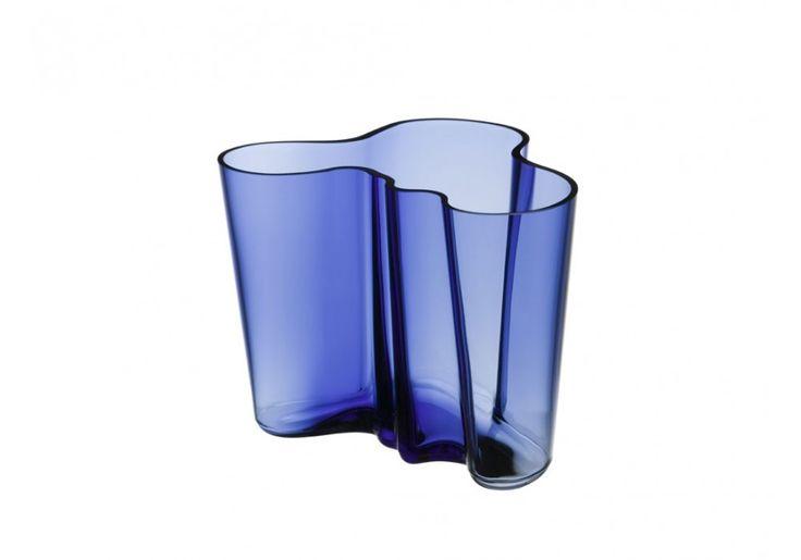 iittala Alvar Aalto - Vase 16 cm, ultramarinblau #iittala #AlvarAalto #Vase #ultramarinblau
