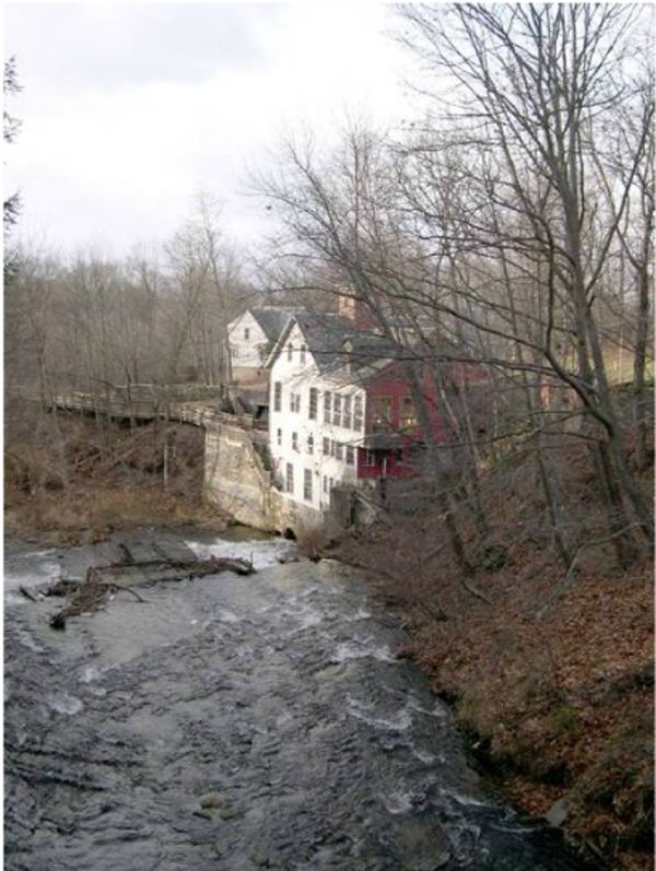 The Montague Bookmill ~You've got to love a bookstore whose tagline is 'Books you don't need in a place you can't find.' Housed in a 1842 gristmill, this cozy spot on the banks of the Sawmill River near Amherst, Massachusetts, is a local treasure specializing in academic books but carrying all sorts of things.