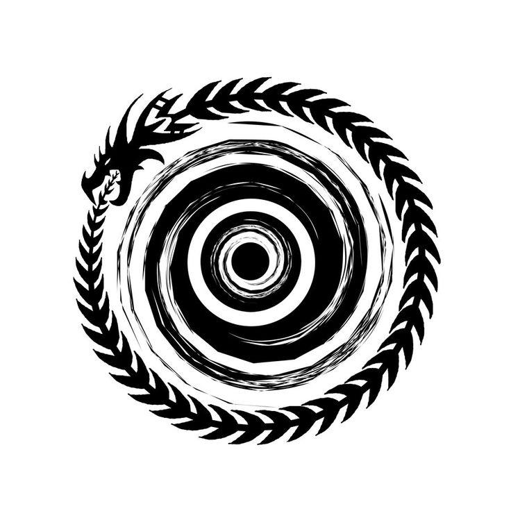 Ouroboros by ~Hyliian on deviantART