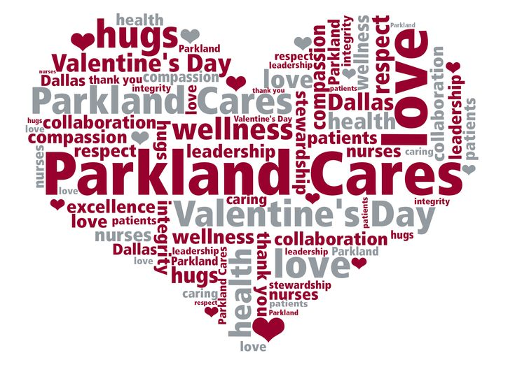 Parkland hospital nurses are delivering Valentine's to more than 3,000 patients today to replicate the feeling we all had when the time came to open cards from our classmates.