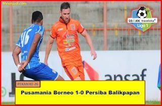 Pusamania Borneo 1-0 Persiba Balikpapan