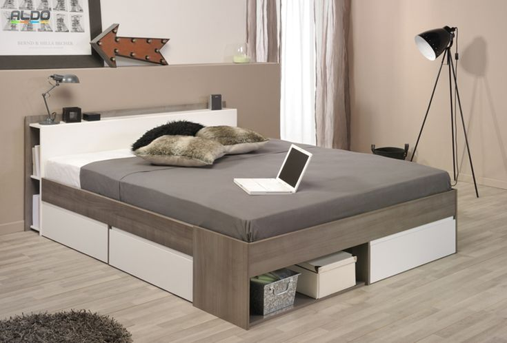 Manželská posteľ s zásuvkami Most-1330L260