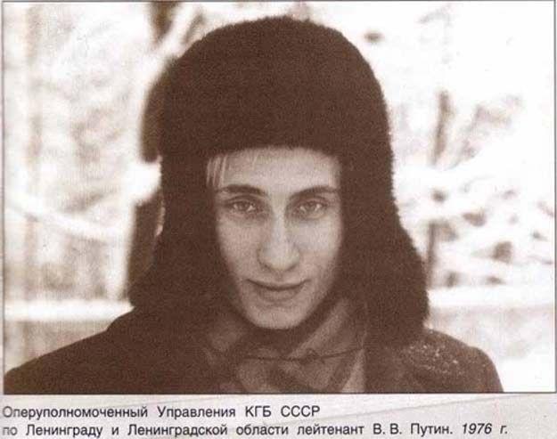 Holy fucking shit Vladimir Putin! He looked like damn Draco Malfoy!