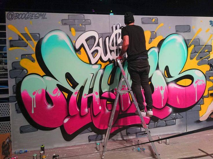 #burnbattleschool #cracow #festival #boogie #boogiesml #graffiti #graffitimaster #bustarhymes #respect #love <3