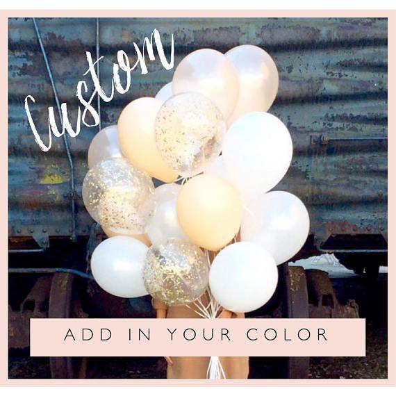 Bouquet di palloncini giganti personalizzati | Coriandoli palloncini | SPEDIZIONE GRATUITA