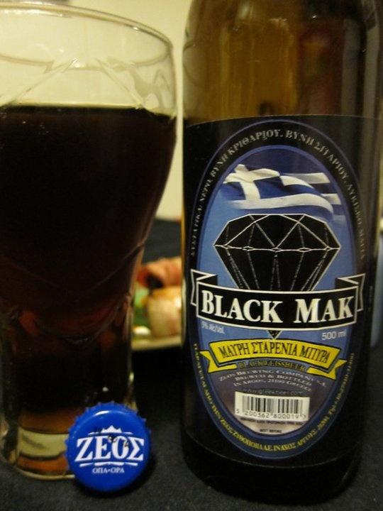 Pivo pivare Zeos - Black Mak i Mak Lager  Peloponez - Nafplion