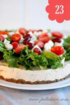 Pullahiiren leivontanurkka: kreikkalainen voileipäkakku