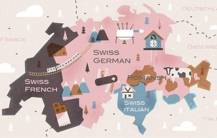 what languages do people speak in switzerland