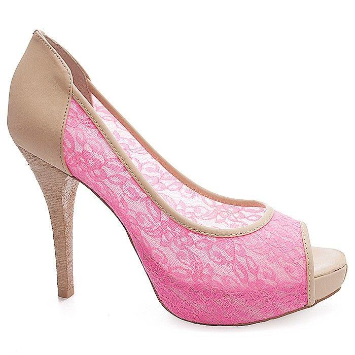 PEEP TOE NUMERAÇÃO GRANDE MIUCHA 1908 ROSA - Sapatos Femininos, Sandálias, Peep Toes, Calçados em Numeração Especial - Sapato Show: Toe Numeração, Sapatos Femininos, Female Shoe, Adoro Sapatos, Peeps Toes