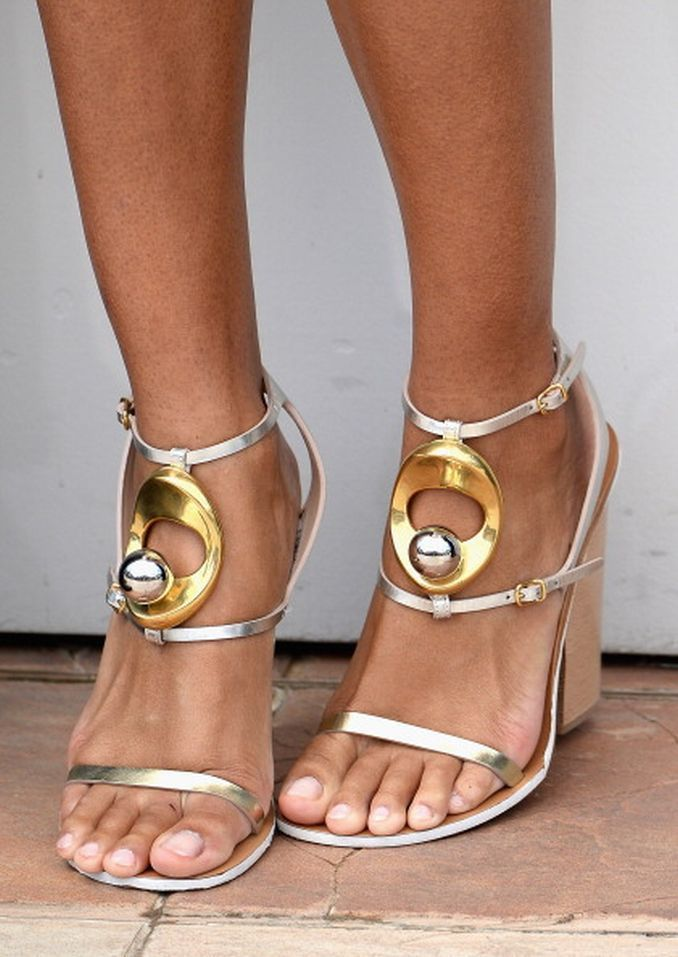 Sian Williams | Célébrités - Wedge heels - …