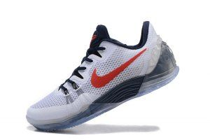 bc2bfdf6065 Men s Nike Zoom Kobe Venomenon 5 V White Red Deep Royal Blue 815757 164 boys  Basketball
