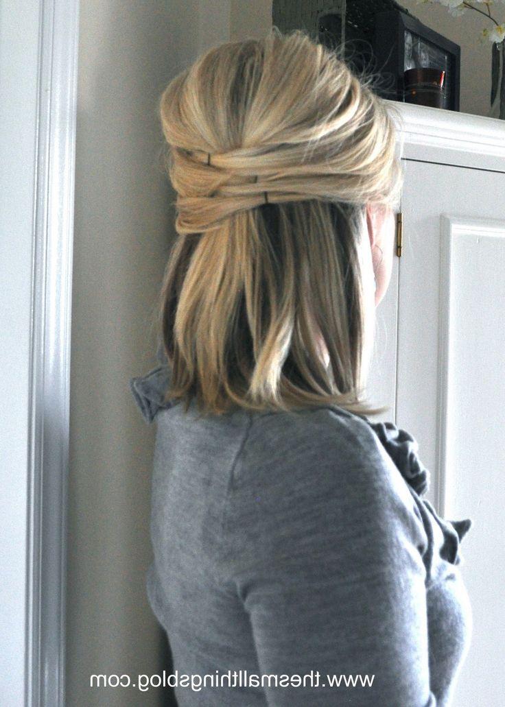 Phenomenal 1000 Ideas About Wedding Hair Half On Pinterest Bridesmaid Hair Short Hairstyles For Black Women Fulllsitofus