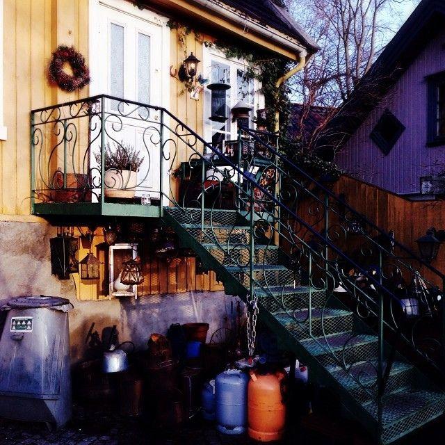 En vakker krims krams trapp | Flickr - Photo Sharing!