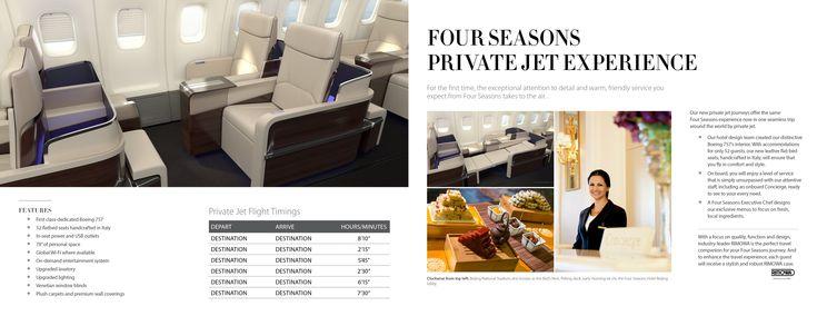 The Four Seasons Private Jet Experience  Four Seasons  Pinterest  Seasons