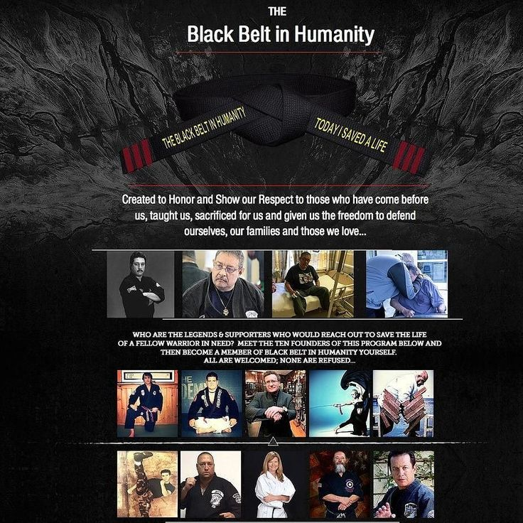 BLACK BELT IN HUMANITY Charity: (http://ift.tt/2agfGs2) was formed as a Non Profit Charity to help our past Martial Arts Legends in need. Dr Robert Goldman joins a small select group of Founders...The Board of Founders (http://ift.tt/2ah9JOR) For thousands of years a Black Belt meant the highest level of proficiency in the deadly arts. Over the centuries it has come to mean so many other things; Father brother sister friend protector teacher and more. As the Martial Arts evolve and the world…
