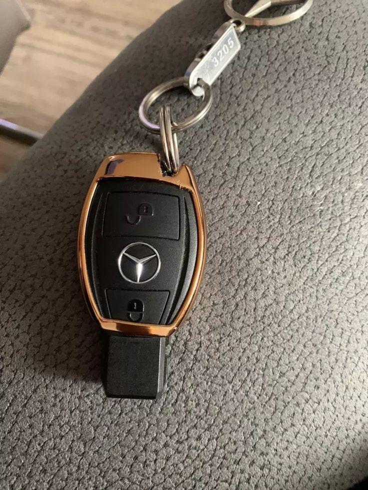 Chrome car keyless entry smart key fob remote soft