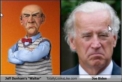 "Yea so this is all I saw tonight in the debate....Jeff Dunham's ""Walter"" Totally Looks Like Joe Biden"