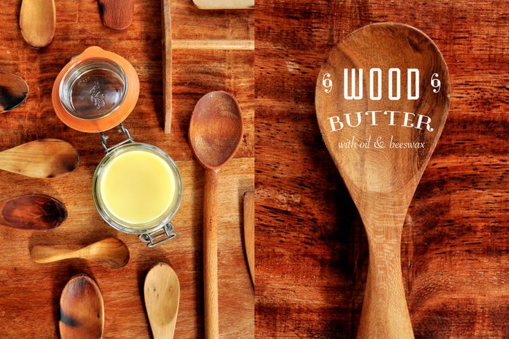 Bring back to life your utensils with this homemade wood butter.  Recipe here: www.elfait.com/blog/woodbutter