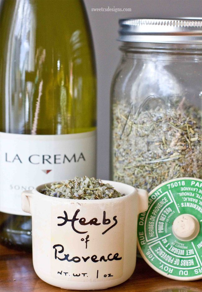 Make your own herbs de provence grilling salt- this is a great gift for fathers day and perfect for grilling poultry, fish, and steaks!