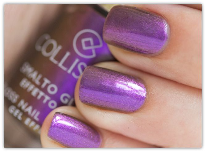 Collistar Gloss Nail Gel Effect no 562 Chameleon Violet