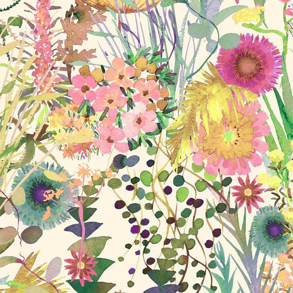 Liberty Tana Lawn tissu Tresco F un jardin par Alicecarolinesupply