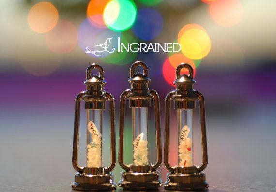 Name on Rice Hurricane Glow Lamp Pendant by IngrainedNZ on Etsy, $19.99