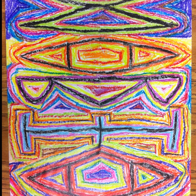 27 best images about symmetry on pinterest aliens for 4th grade craft projects