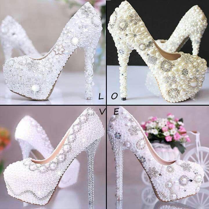 #white #heels #glam ✌