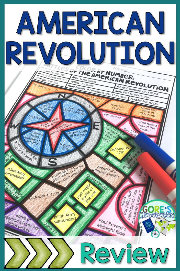 26+ Battles of the american revolution worksheet Awesome