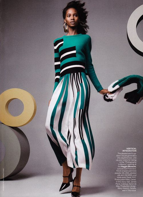 knitGrandeur®: Broken Stripes