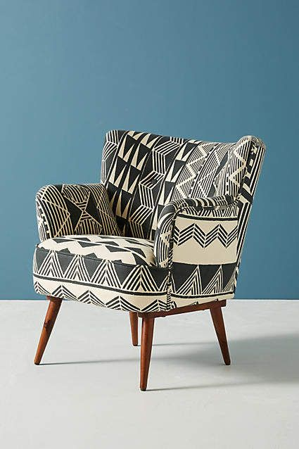 Best Anthropologie Ulla Petite Accent Armchair Moroccan Accent 400 x 300