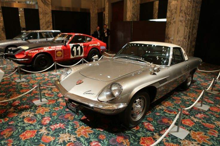 From 1967, the Mazda Cosmo Sport 110S narrowly missed becoming the world's first production car to use a wankel engine, being beaten by the NSU Ro 80 luxury car, but Mazda got the reliability right and proiduces Felix Wankel's simple and reliable engine design to this day. (Photo: Mike Hanlon / Gizmag.com)