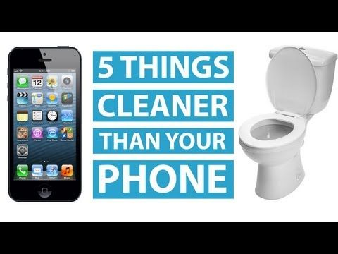 How To Disinfect Cell Phone & Clean Phone Screen