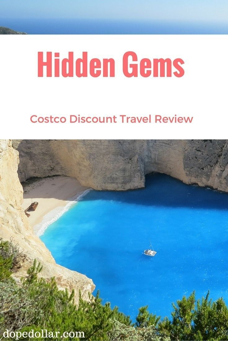 Costco has an excellent travel booking service for its members. You can book cruises and vacations for nice discounts. Click here to learn more.