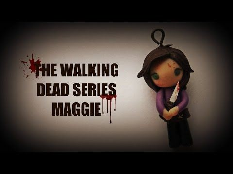 The Walking Dead Series Maggie polymer clay tutorial