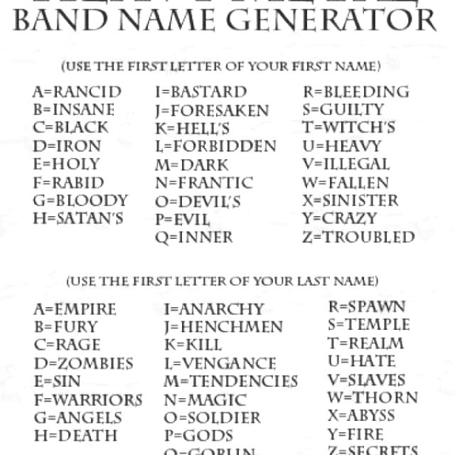 I'm the Black Death. Apparently my plague of rock will take the world by storm. Rock on