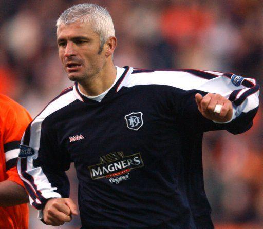 Fabrizio Ravanelli, Dundee FC (2003–2004, 5 apps, 0 goal)