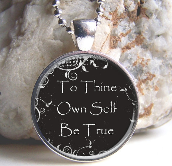 essay about thine own self be true