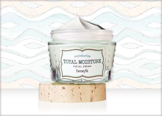 Benefit Cosmetics - total moisture facial cream #benefitbeauty #benefitgals