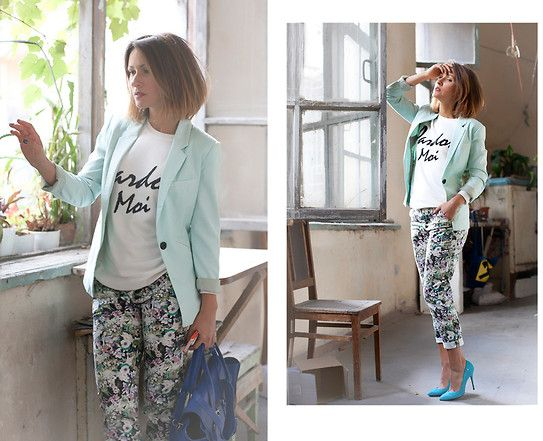 Galant-Girl Ellena - Zara Pants, Cesare Paciotti Suede Pumps, Asos Jumper - In the mood of Monday. Настроенческое...