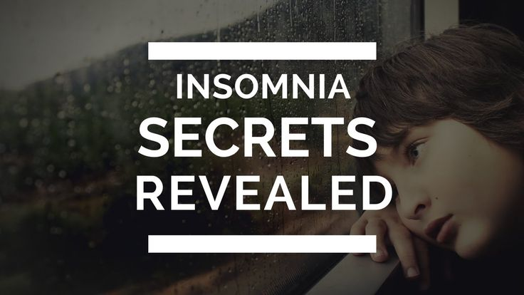 Natural Insomnia Treatment Cure