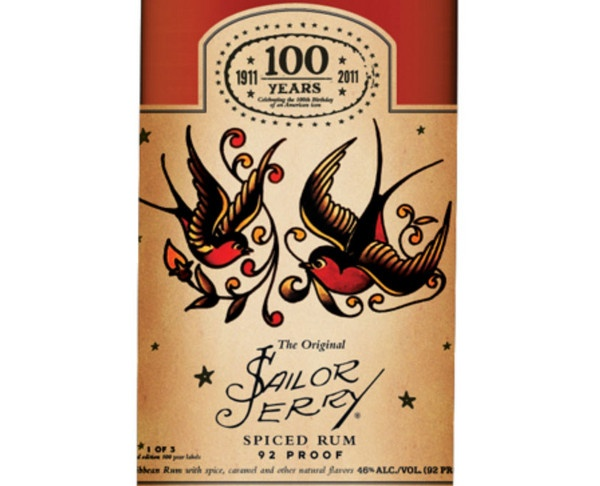 Sailor Jerry's sparrows | Nails and ink | Pinterest ...