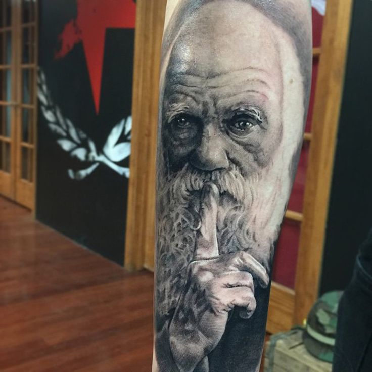 Darwin Tattoo by Pony Lawson by PonyLawson on DeviantArt