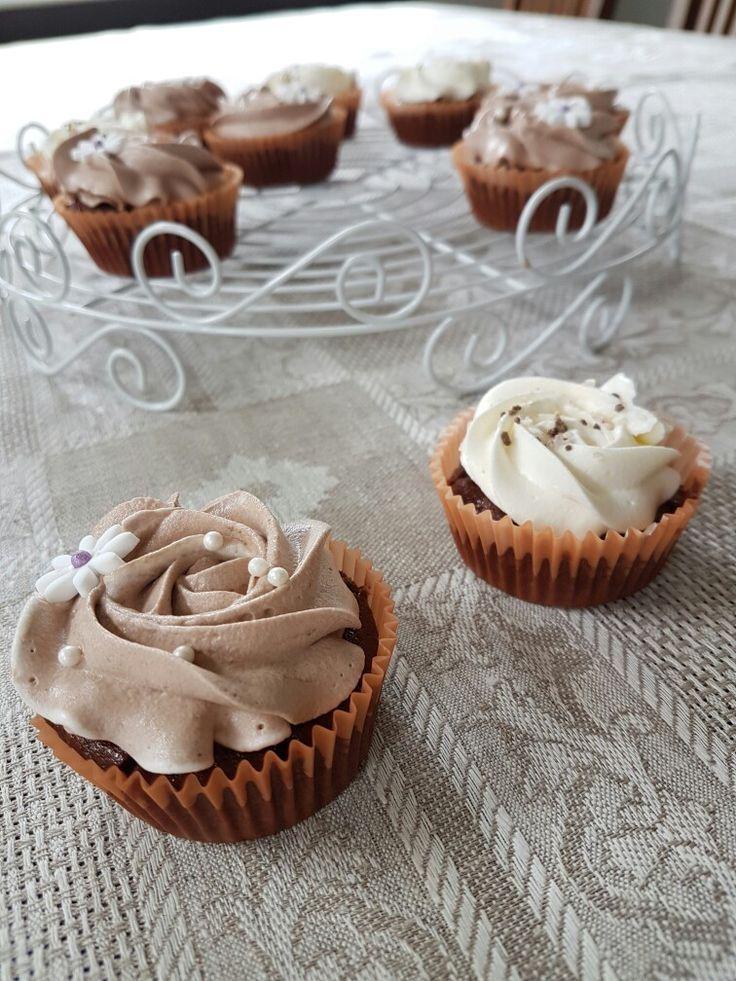 Marianne kuppikakkuja / Marianne-candy cupcakes