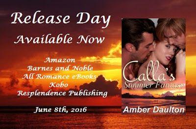 Author Tammy Tate: Celebrating...Calla's Summer Fantasyby Amber Dault...