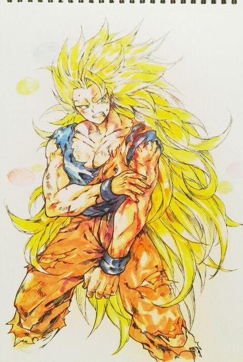 Goku Dragon Ball Http Touch Pixiv Net Member Illust Php
