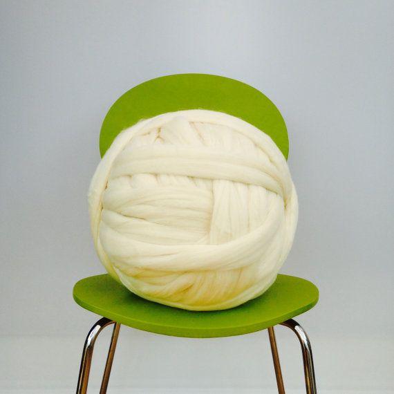 4kg Bulky yarn. SALE Big giant merino. by WoolCoutureCompany