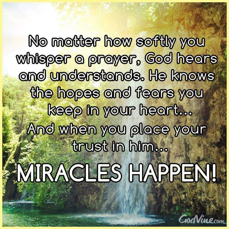 Pin on MIRACLES