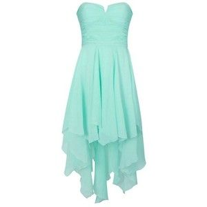 "Tiffany blue dress nice style could use some bling- would be great for a ""Something Blue"" themed bridal shower!"